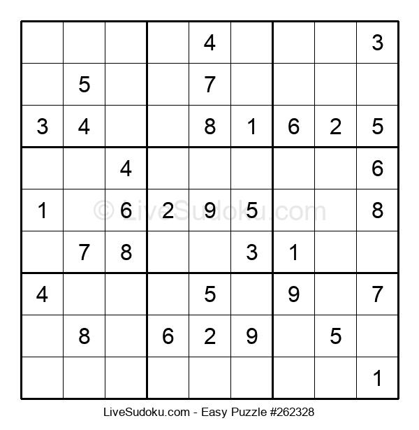 Beginners Puzzle #262328
