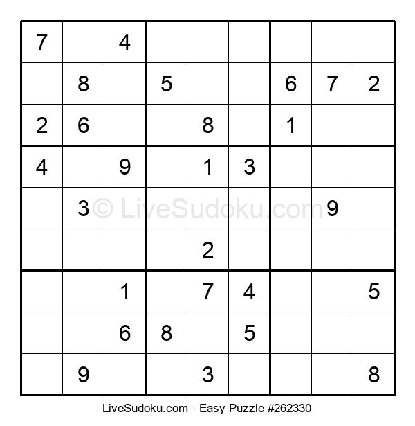 Beginners Puzzle #262330
