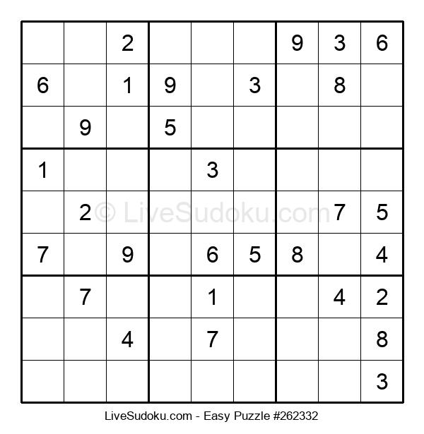 Beginners Puzzle #262332