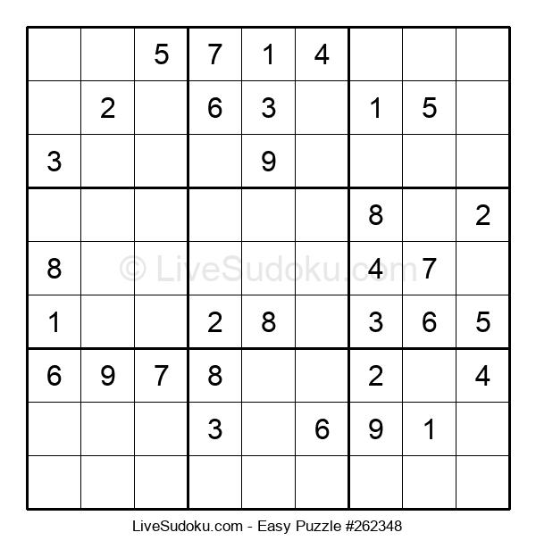 Beginners Puzzle #262348