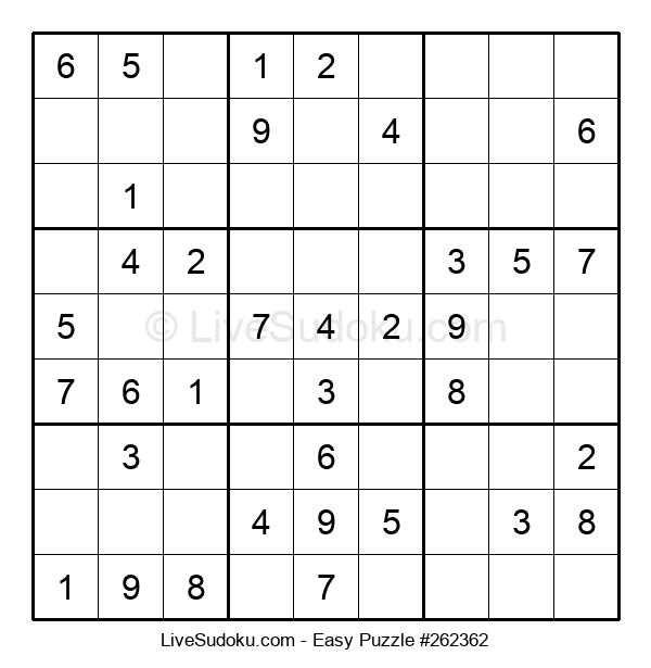 Beginners Puzzle #262362