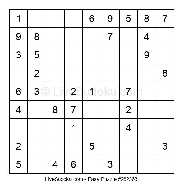 Beginners Puzzle #262363