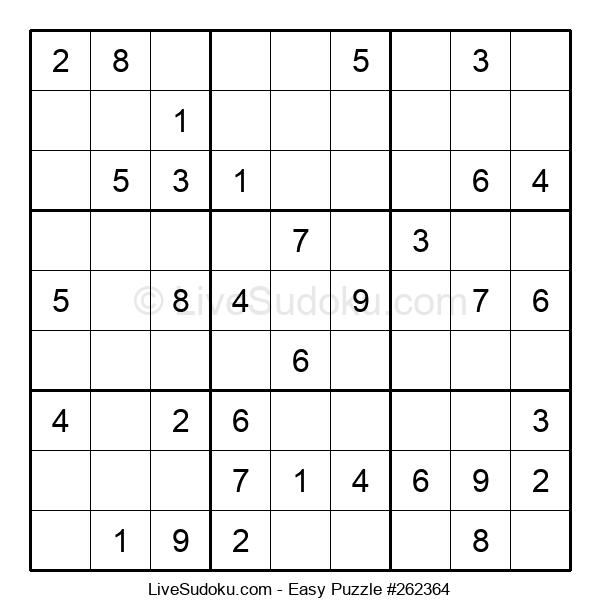 Beginners Puzzle #262364