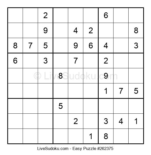Beginners Puzzle #262375