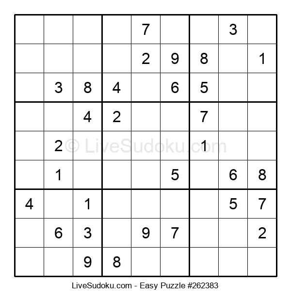 Beginners Puzzle #262383