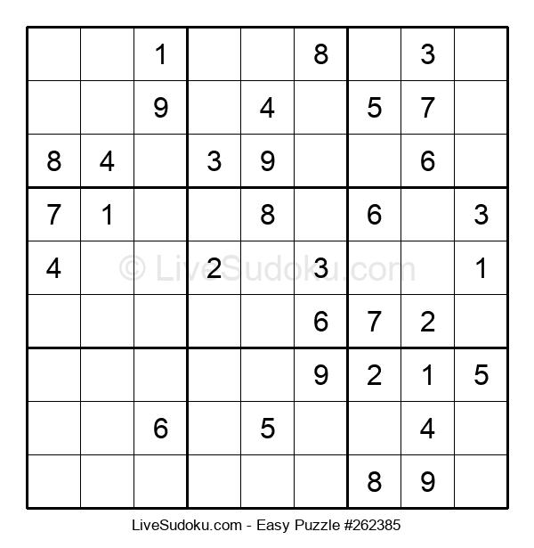 Beginners Puzzle #262385
