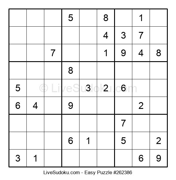 Beginners Puzzle #262386