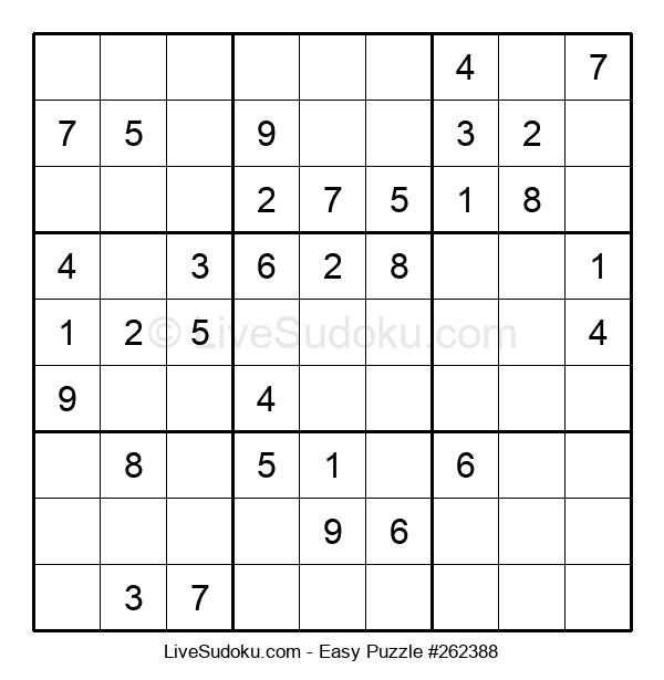 Beginners Puzzle #262388