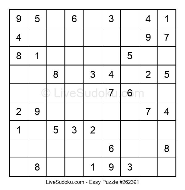 Beginners Puzzle #262391