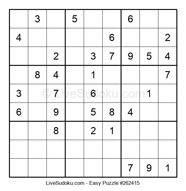 Beginners Puzzle #262415