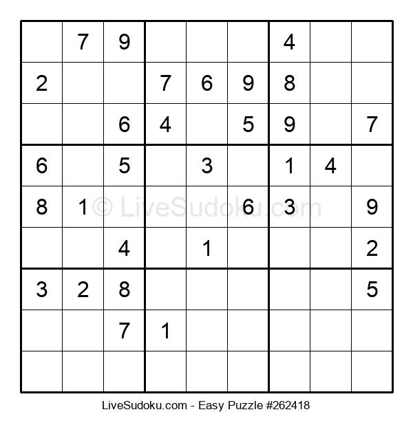 Beginners Puzzle #262418
