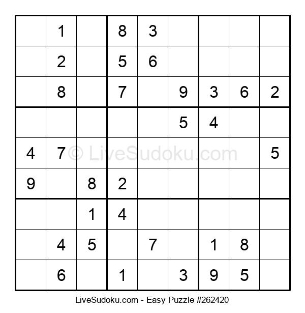 Beginners Puzzle #262420