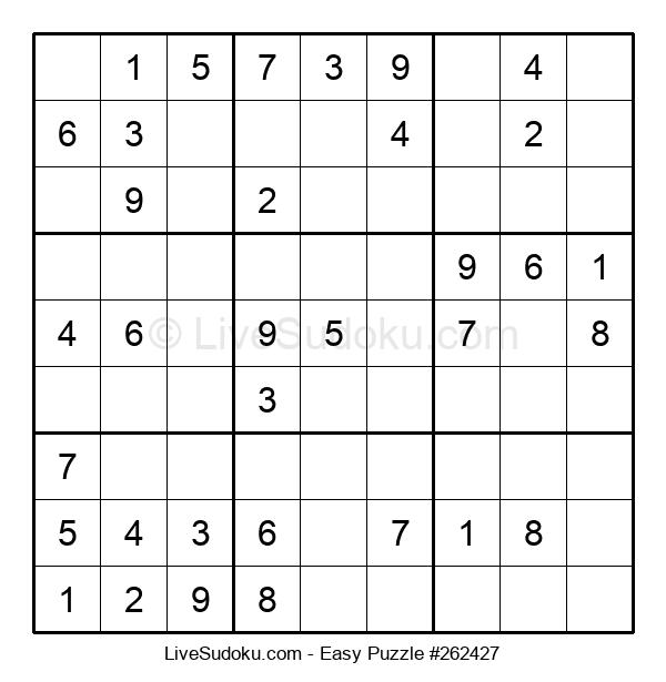 Beginners Puzzle #262427