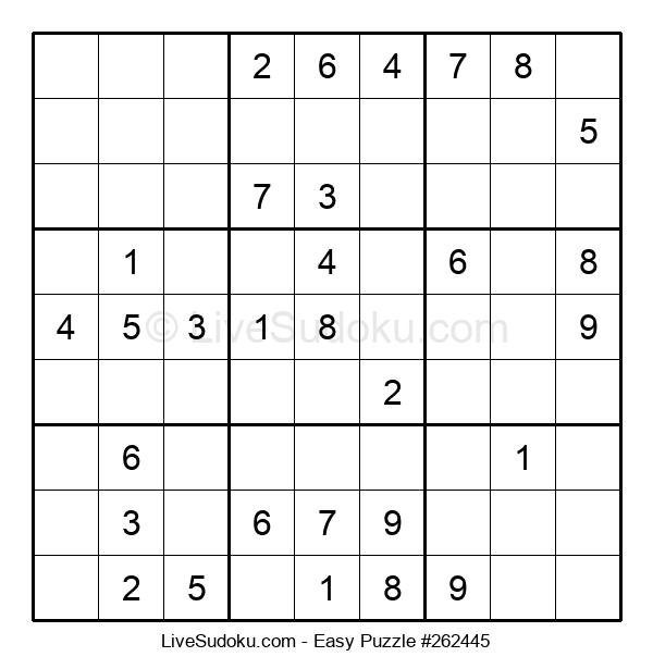 Beginners Puzzle #262445