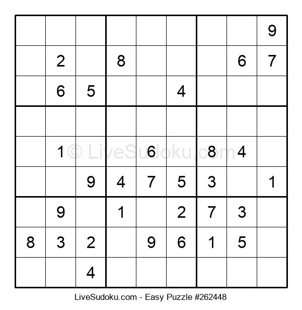 Beginners Puzzle #262448