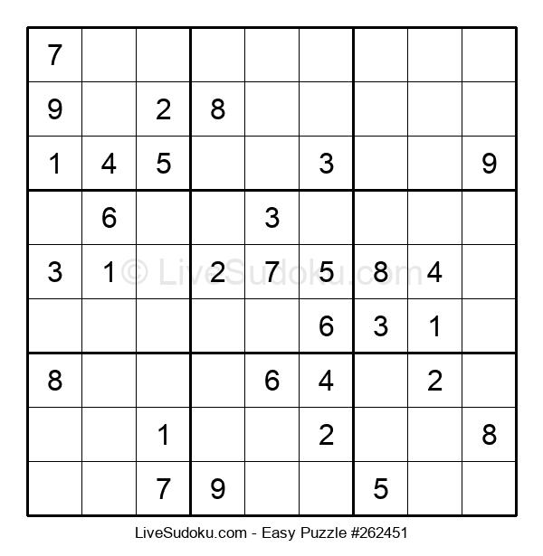 Beginners Puzzle #262451