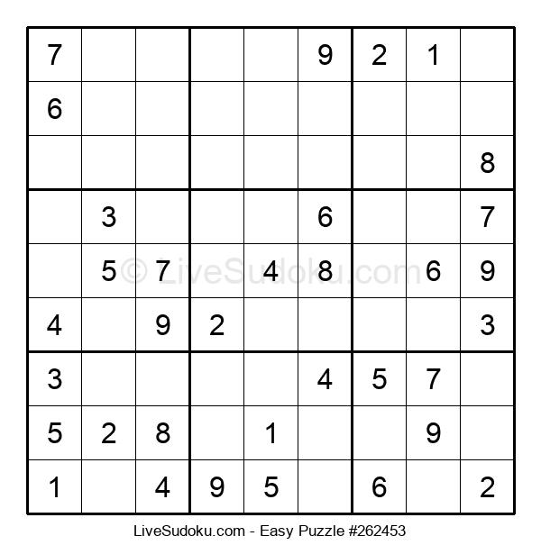 Beginners Puzzle #262453