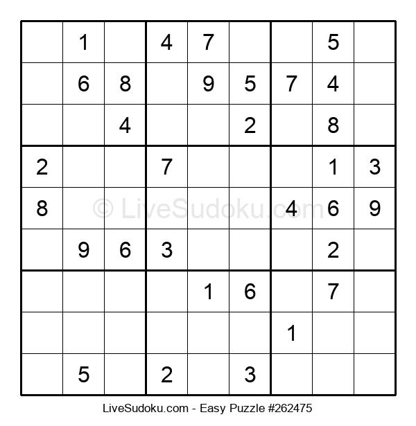 Beginners Puzzle #262475