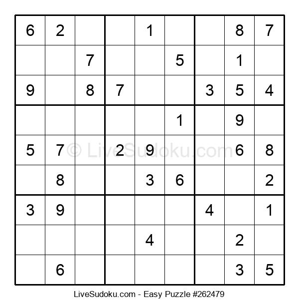 Beginners Puzzle #262479