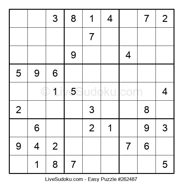 Beginners Puzzle #262487