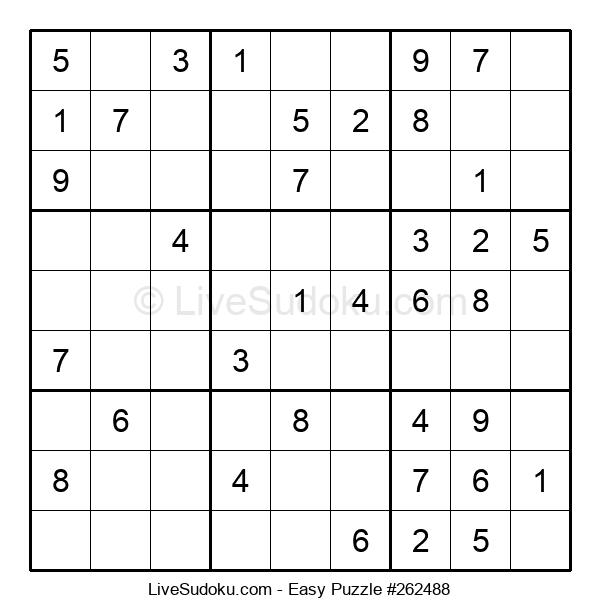Beginners Puzzle #262488