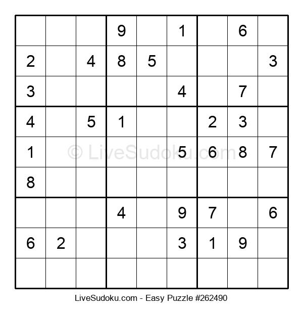 Beginners Puzzle #262490