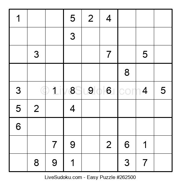 Beginners Puzzle #262500