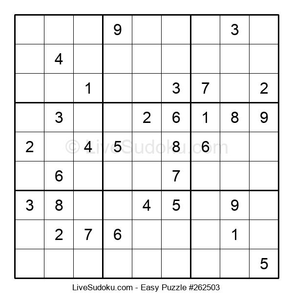 Beginners Puzzle #262503