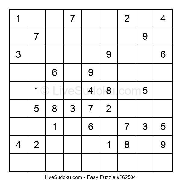 Beginners Puzzle #262504