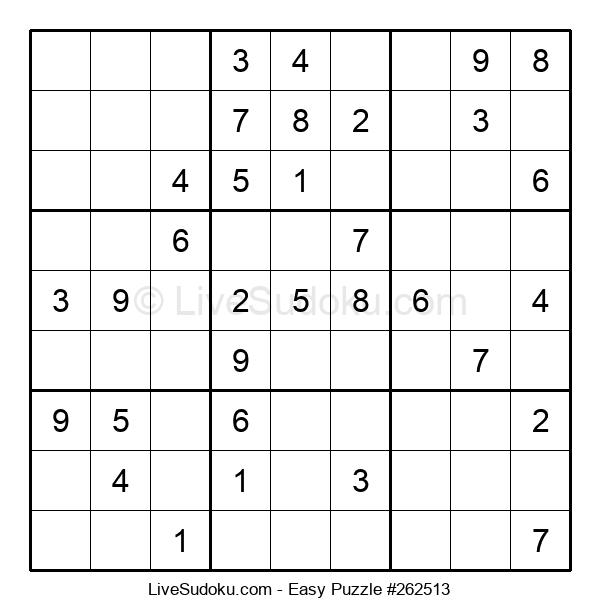 Beginners Puzzle #262513
