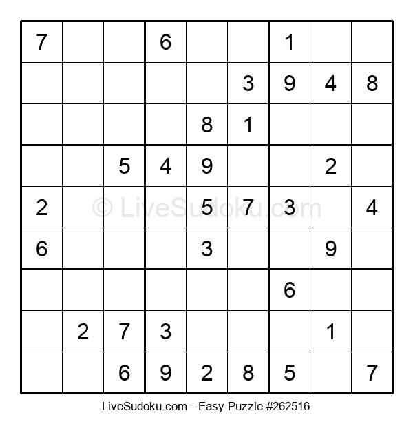 Beginners Puzzle #262516