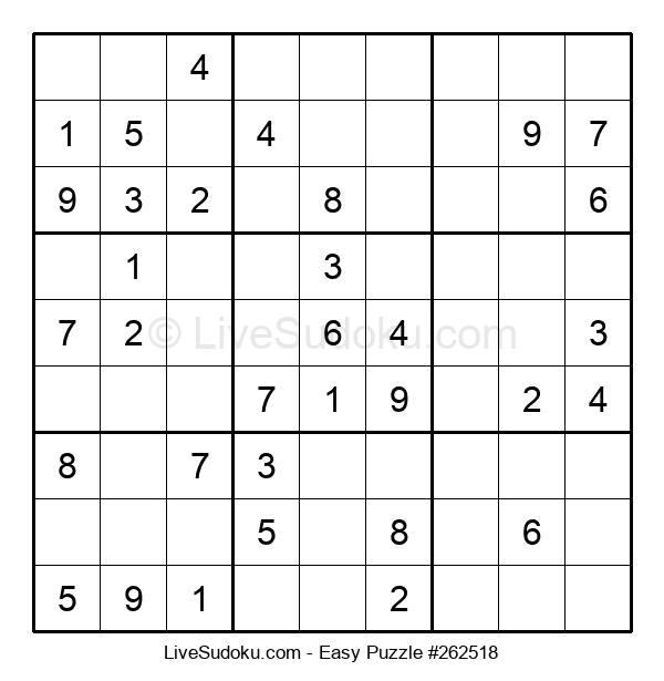 Beginners Puzzle #262518