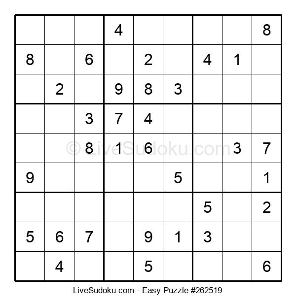 Beginners Puzzle #262519