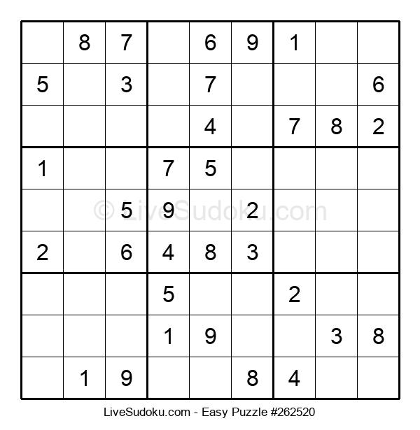 Beginners Puzzle #262520