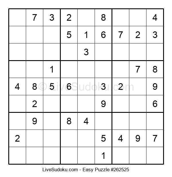 Beginners Puzzle #262525