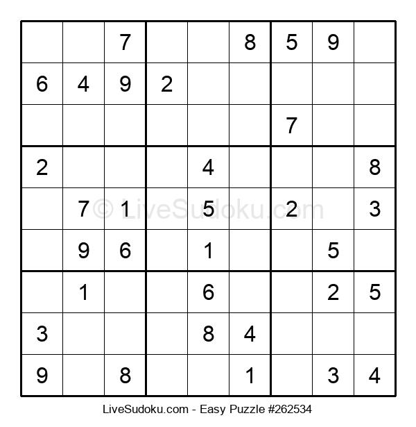 Beginners Puzzle #262534