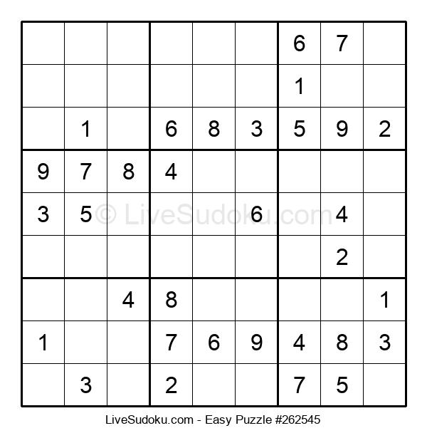 Beginners Puzzle #262545