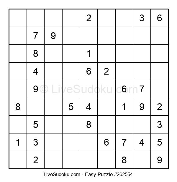 Beginners Puzzle #262554