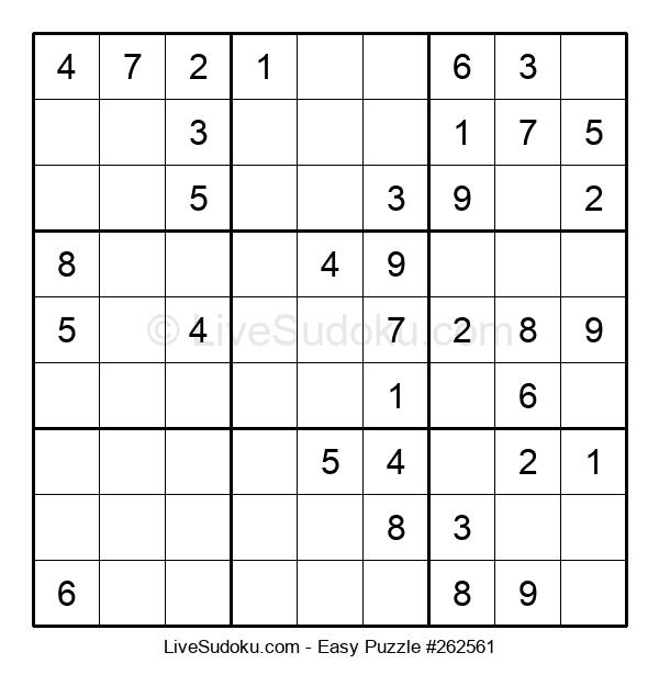 Beginners Puzzle #262561