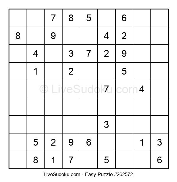 Beginners Puzzle #262572