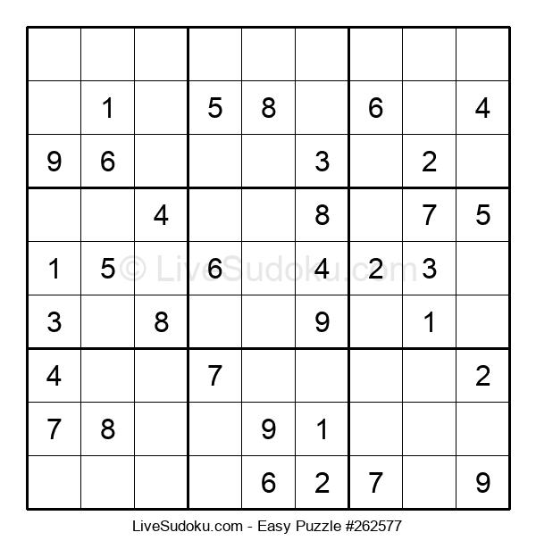 Beginners Puzzle #262577