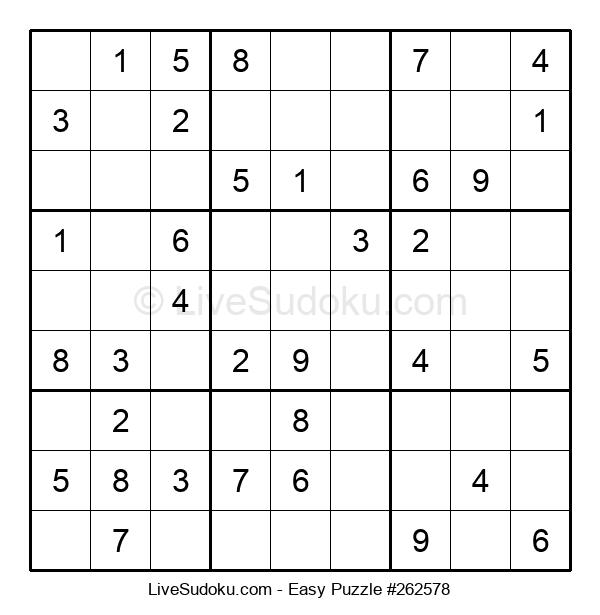 Beginners Puzzle #262578