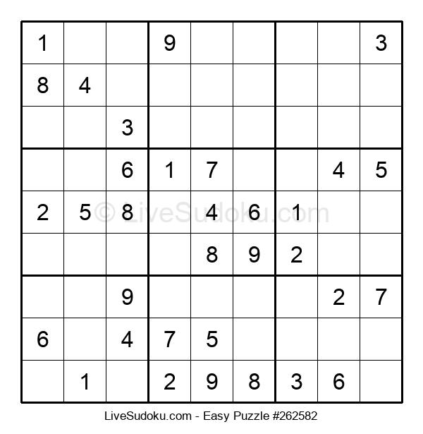 Beginners Puzzle #262582