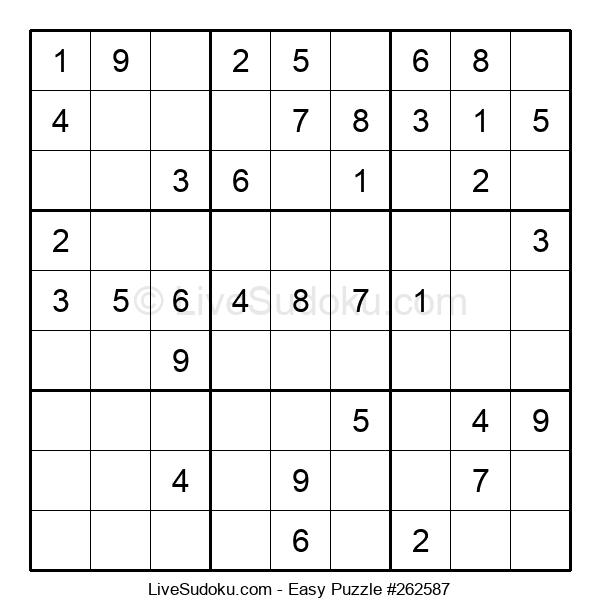 Beginners Puzzle #262587