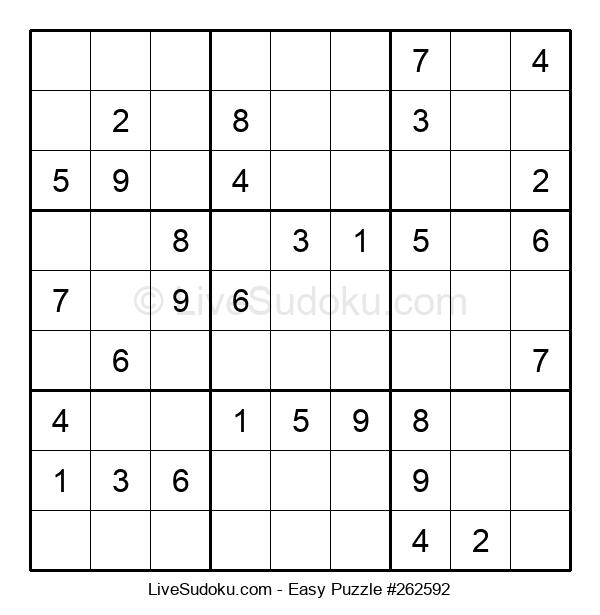 Beginners Puzzle #262592