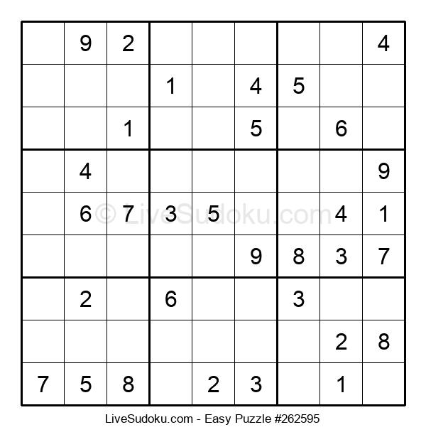 Beginners Puzzle #262595