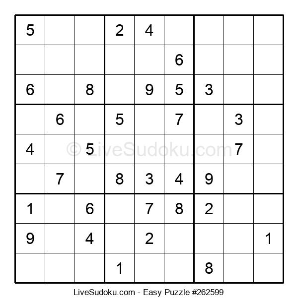 Beginners Puzzle #262599
