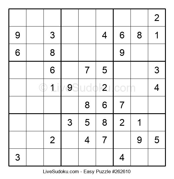Beginners Puzzle #262610