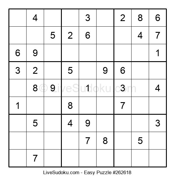 Beginners Puzzle #262618