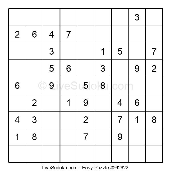 Beginners Puzzle #262622
